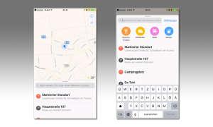 iOS 10 Karten-App