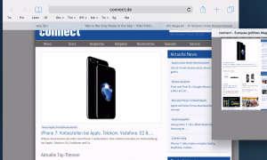iOS 10 Webseiten-Ansicht