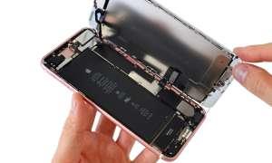 iPhone zerlegt innen innenteil bauteile