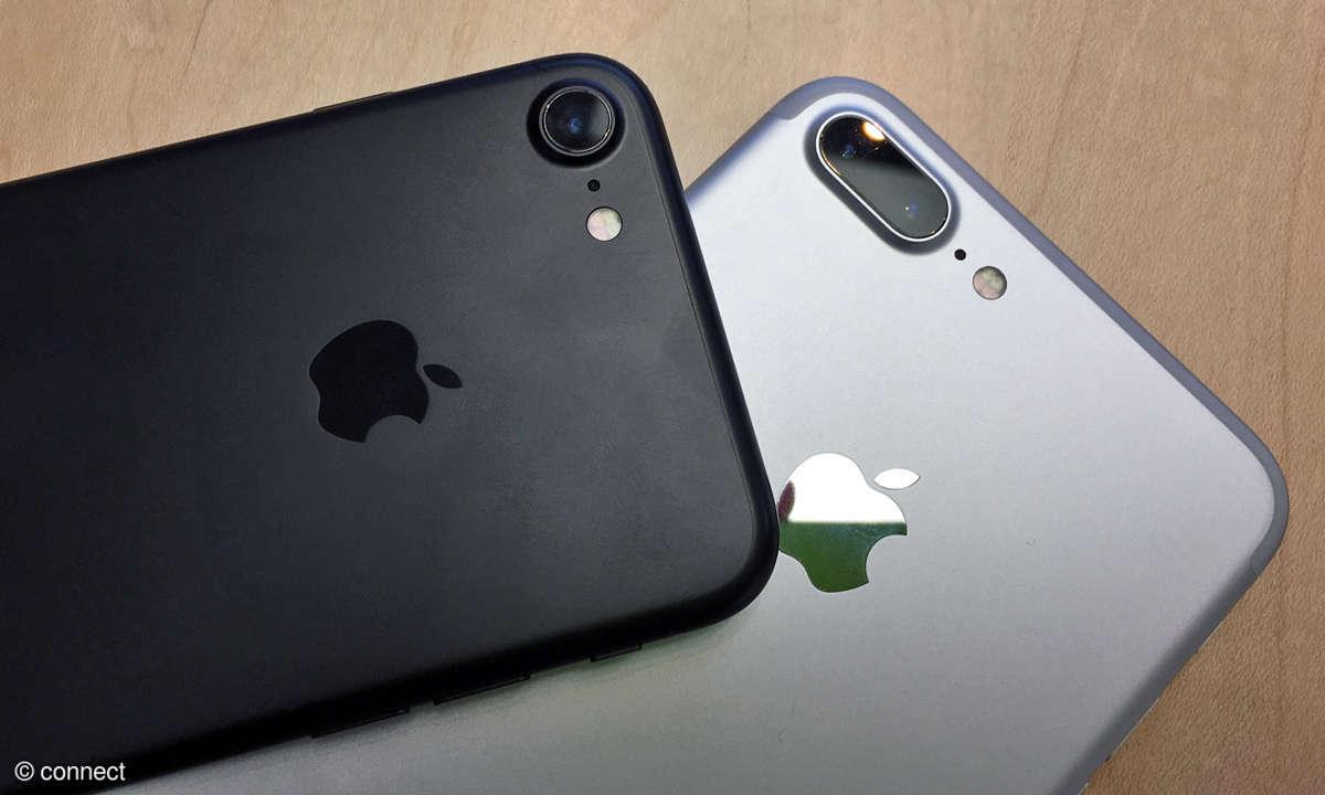 iPhone 7 und 7 Plus Rückseite