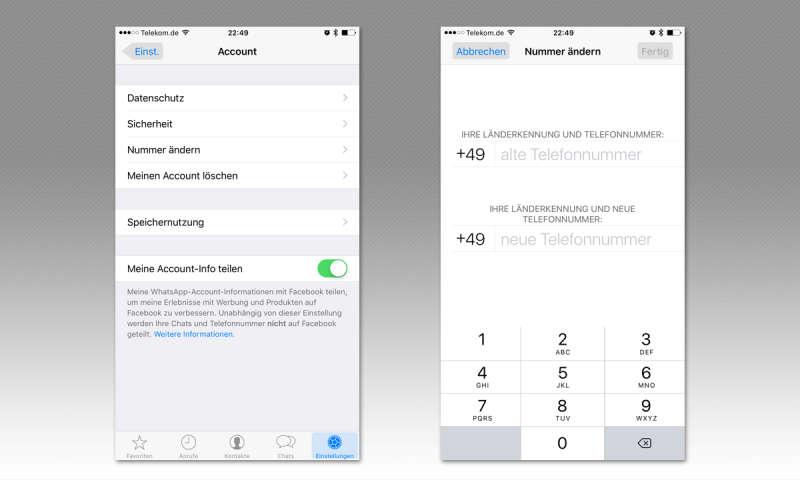 WhatsApp: Telefonnummer ändern - so gelingt der Wechsel - connect