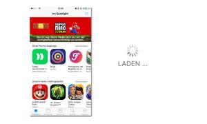 iTunes Apps Refresh Trick neu laden aktualisieren iOS 10