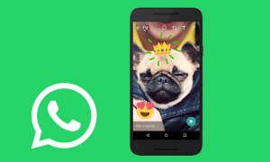Whatsapp Update Fotos zeichnen
