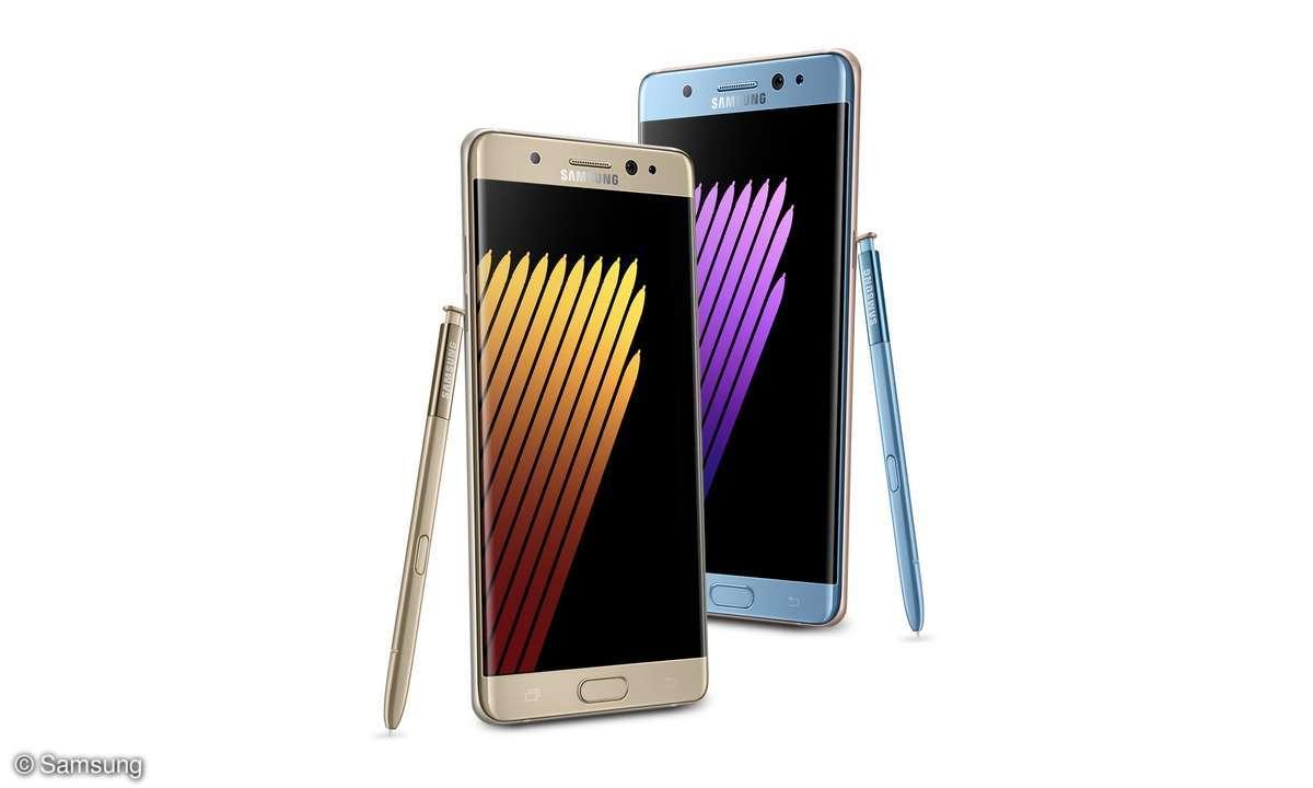 Galaxy Note 7 Verkaufsstopp