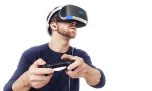 Sony PlayStation VR mit Spieler
