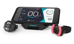 Smartphone mit Hub, Halterung und Daumen-Controller