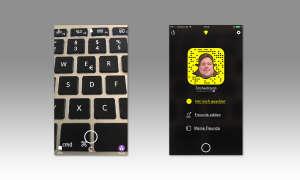 Snapchat Menü