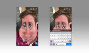 Snapchat Text einfügen