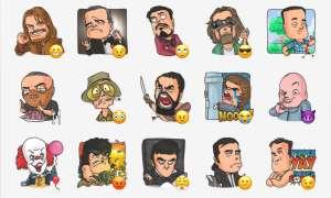 Cinema Male Heroes - Telegram Sticker