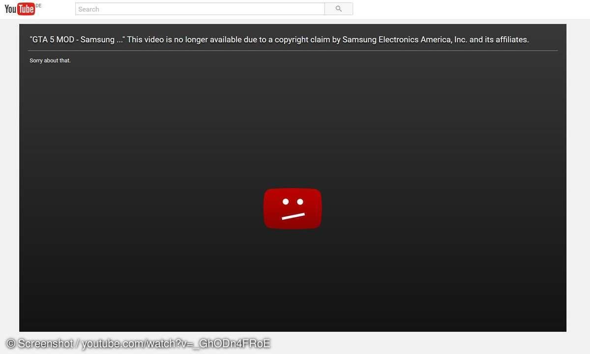 Samsung lässt GTA 5 Mods löschen