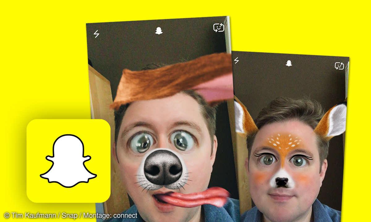 Snapchat Filter Effekte