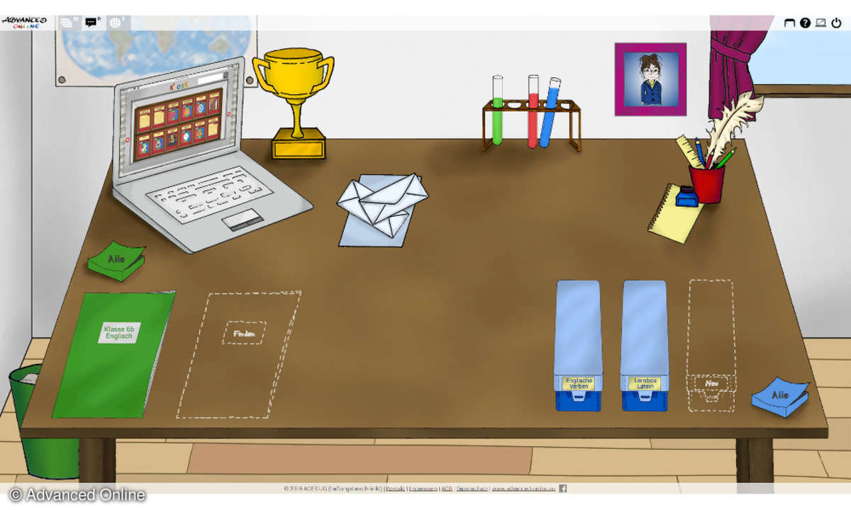 Advanced Online Desk