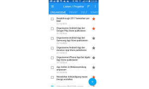 Organiseme Screenshot App