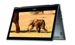 Dell Inspiron 13 5000 Convertible aufgeklappt und stehend