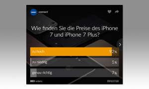 iPhone 7 Umfrage