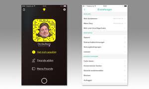 Screenshot Snapchat