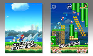 iPad Screenshots Mario Bros. Nintendo Apple