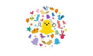 Snapchat Freunde finden App Logo