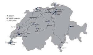 connect Netztest 2017 Route Schweiz