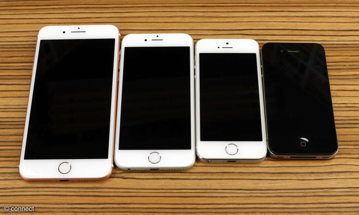 iPhone 7 Plus, iPhone 6S, iPhone 5S, iPhone 4S