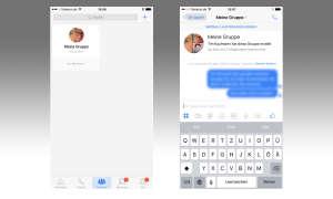 Facebook Messenger Gruppenchat