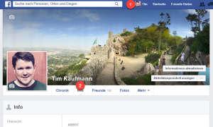 Eigene Facebook-Seite aufräumen