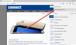 Screenshot: connect.de