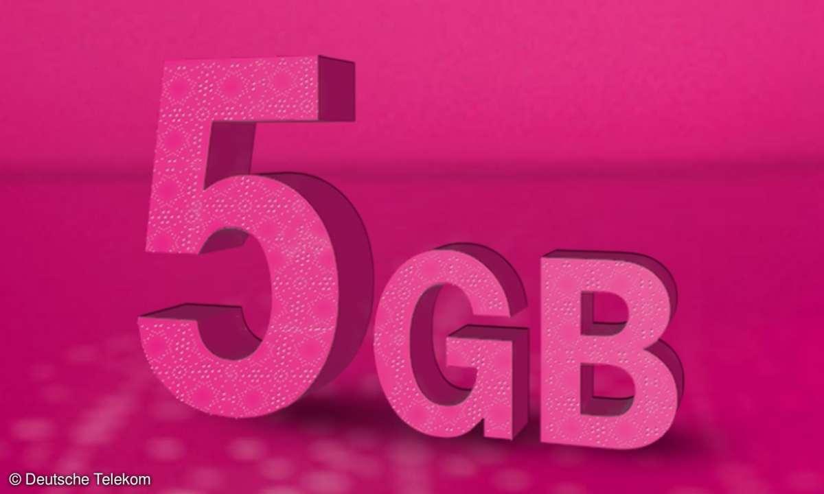 Deutsche Telekom Datenvolumen 5 GB