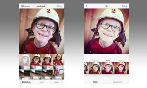Bilder bearbeiten in Instagram