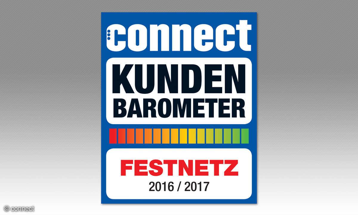 connect Kundenbarometer Festnetz 2016/2017