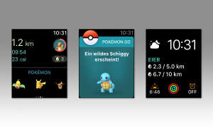 Pokémon GO auf der Apple Watch