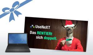 UseNeXT und DELL Notebook Vostro 3559