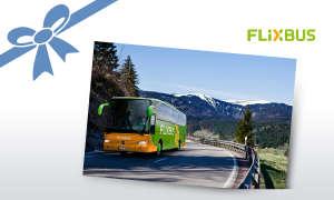 Europa-Gutscheine von FlixBus