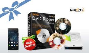 Huawei P9 lite und WinX DVD Video Converter Pack