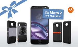 Moto Z inkl. aller Moto Mods