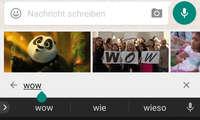 Whatsapp GIF-Suche