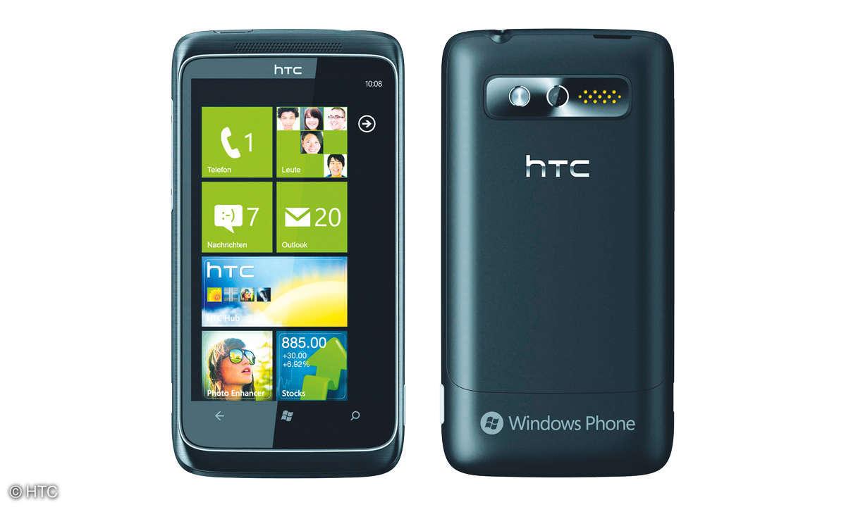 HTC 7 Trophy mit Windows Phone 7