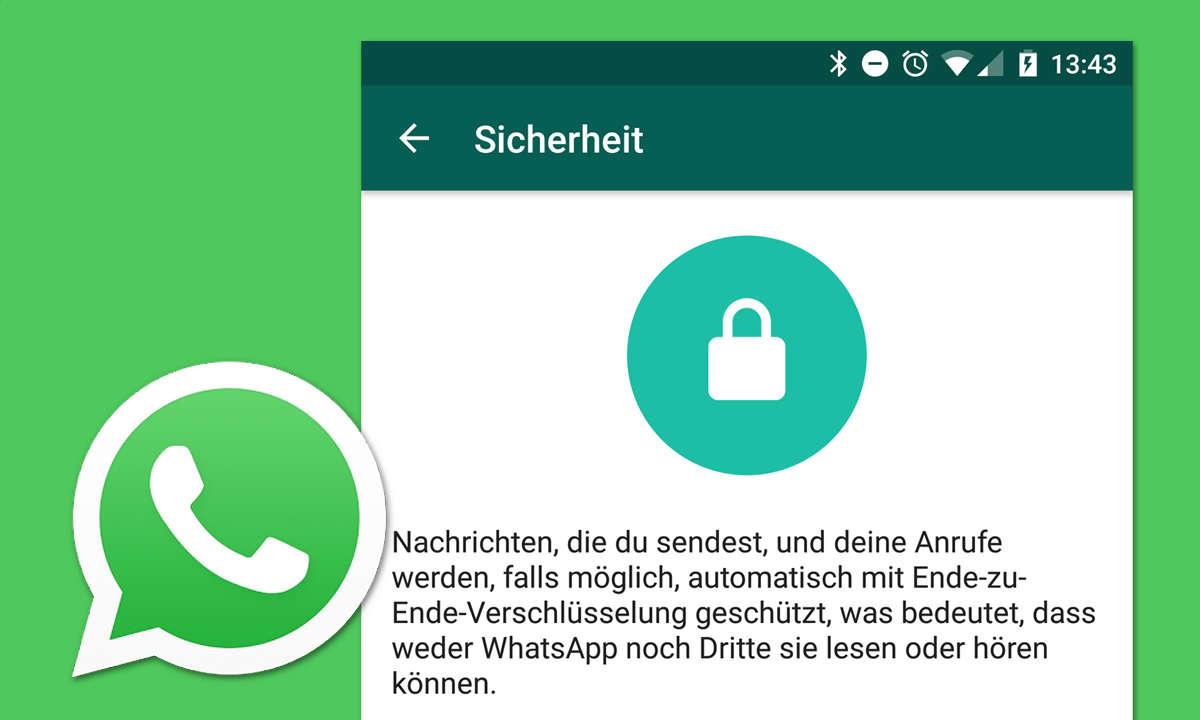 Whatsapp Verschlüsselung mit Backdoor