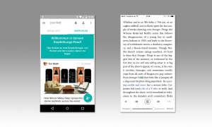 Pocket Inhalte finden und hören