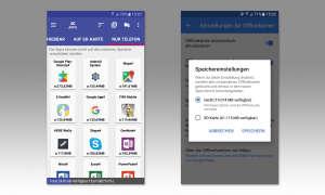 Apps und Daten auf SD-Karte verschieben