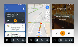 Screenshots Android Auto