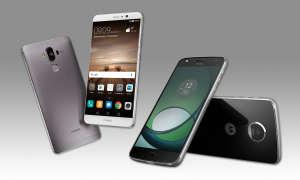 Huawei Mate 9 und Lenovo Moto Z Play