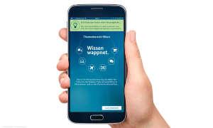 Wissen wappnet - App