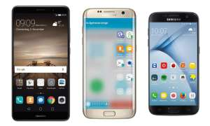 Huawei P9, Samsung Galaxy S7 Edge und Galaxy S7