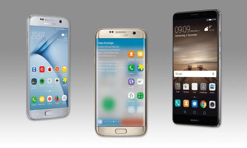 vergleich mate 9 vs iphone 7s
