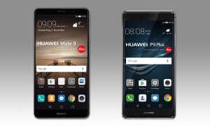 Huawei Mate 9 vs. Huawei P9 Plus