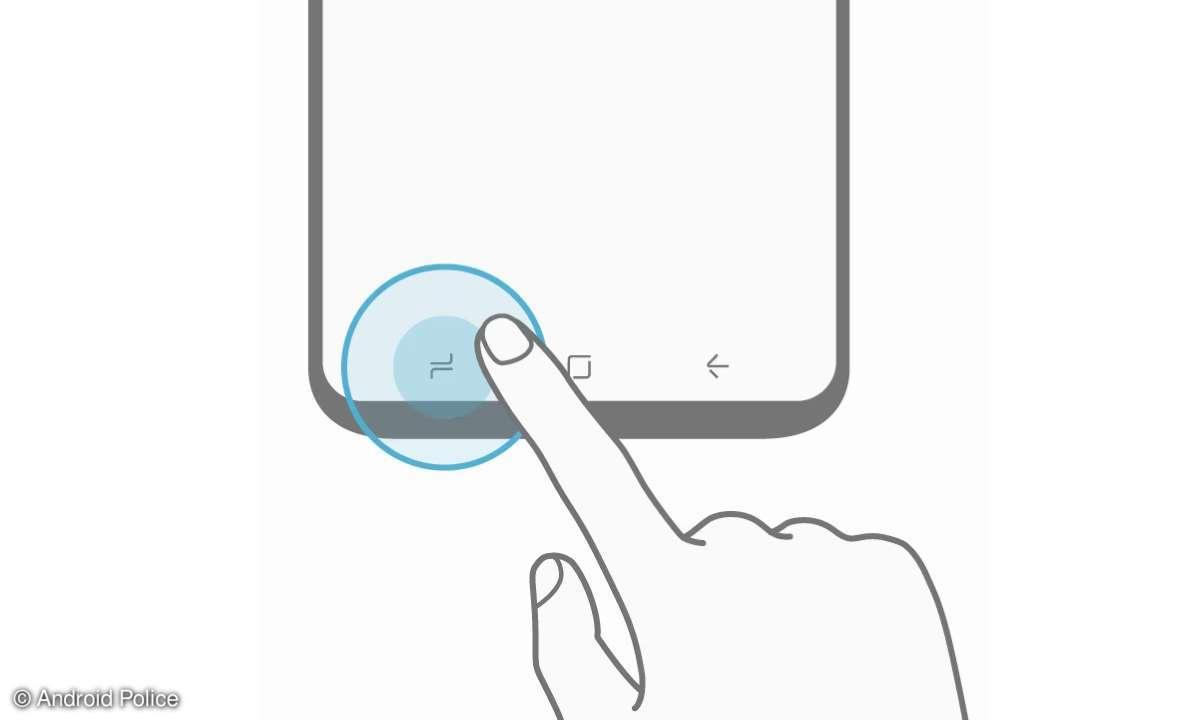 Galaxy S8 Menü-Button