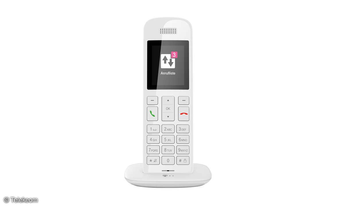 Telekom Speedphone 11 weiss-frontal