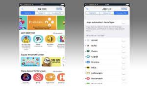 Sticker und Apps