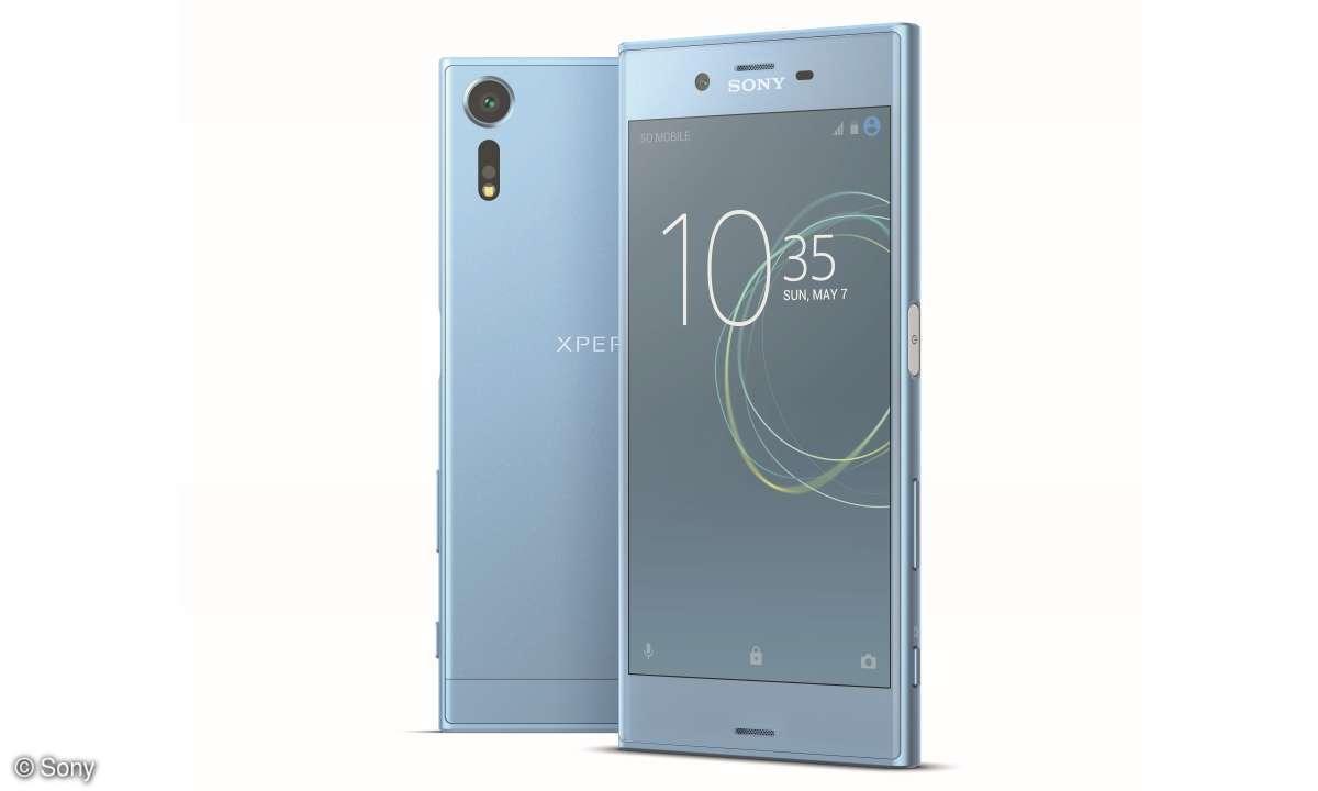 Sony Xperia XZs in Eisblau